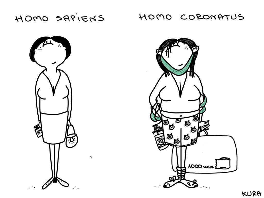 Homo Coronatus - wie ein Mensch nach der Corona-Pandemie aussieht